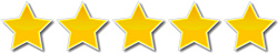 Logo: Five Stars Customer Reviews