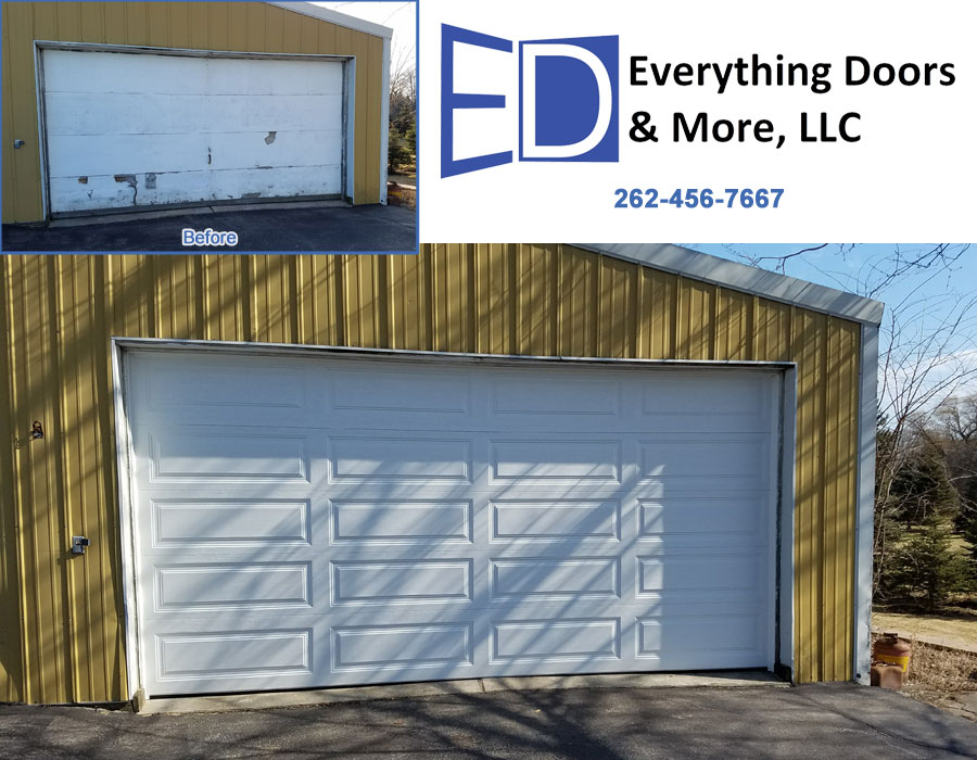 Everything Doors & More, LLC | Racine, Wisconsin on signs and more, kitchen cabinets and more, painting and more, air conditioning and more, blinds and more,
